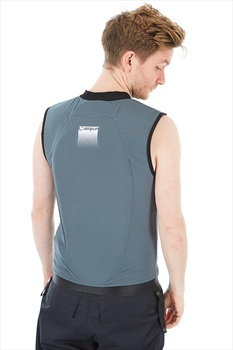 Amplifi Reactor Ski/Snowboard Protection Impact Vest, L Grey