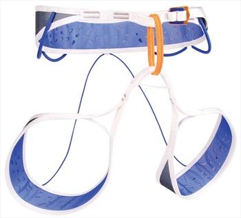 Blue Ice Adult Unisex Addax Alpine Climbing Harness, S White/Blue