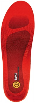 Sidas Winter 3Feet Low Ski/Snowboard Boot Insoles, S Orange