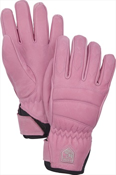 Hestra Leather Fall Line Women's Ski/Snowboard Gloves, XL Cerise