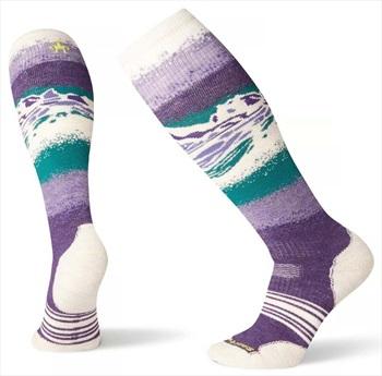 Smartwool PhD Snowboard Medium Women's Snowboard Socks, L Purple