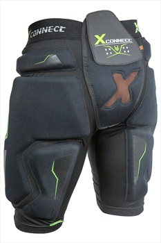Demon X Connect XD3O Ski/Snowboard Impact Shorts, S Black