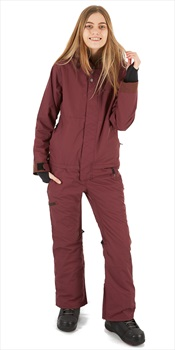 Airblaster Insulated Freedom Womens Ski/Snowboard Suit, M Oxblood
