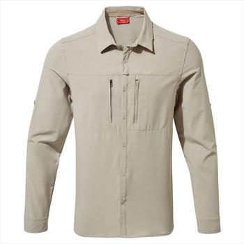 Craghoppers NosiLIfe Pro III Long Sleeve Shirt, XL Parchment