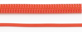 Edelrid Eagle Lite Pro Dry Rock Climbing Rope, 9.5mm X 50m Neon Coral