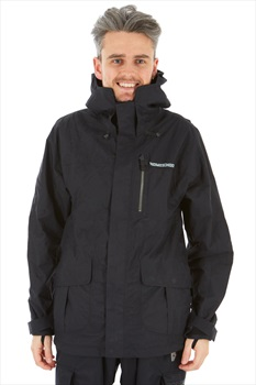 Homeschool Factory Parka Snowboard/Ski Jacket S Night