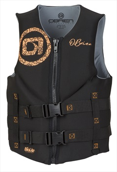 O'Brien Ladies Traditional Biolite Buoyancy Aid / Vest, M Coral 2020