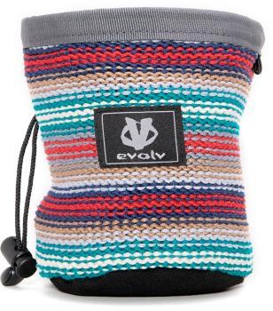 Evolv Knit Rock Climbing Chalk Bag, Fiesta