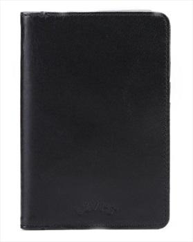 Levi's Arch Logo Passport Leather Wallet, Black