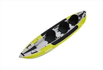 Z PRO Tango 300 Recreational Inflatable Kayak, 3 Person Green 2020