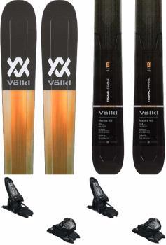 Volkl Mantra 102 | Griffon 13 ID Ski Package, 191cm Black/Yellow 2021