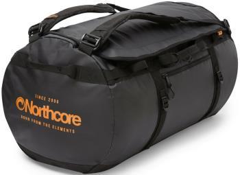 Northcore Adventurer 85L Duffel Travel Bag, 85L Black/Orange
