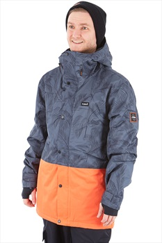 Planks Feel Good Ski/Snowboard Jacket, S Midnight Palm