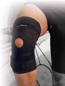 Precision Neoprene Knee Stabiliser XL Black