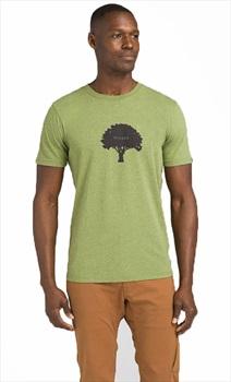 Prana Tree Hugger Journey Man T-Shirt, L Matcha Heather