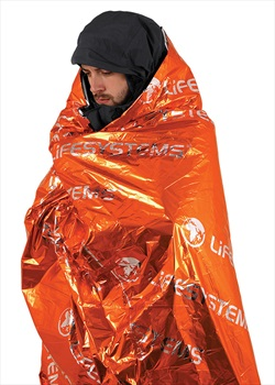 Lifesystems Thermal Survival Bag Emergency Blanket, Single Orange
