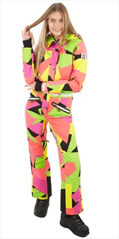 OOSC Snow Suit Women's Snowboard/Ski One Piece, S Hold Your Colour