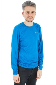 Montane Dart Technical Long Sleeve Base Layer Top, S Electric Blue