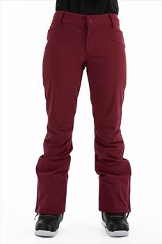 Roxy Creek Women's Snowboard/Ski Pants, S Grape Wine