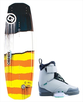 O'Brien Fremont   Defacto Park Wakeboard Package, 138  UK 11 Yellow