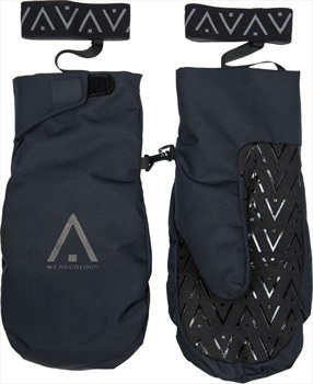 Wearcolour Adult Unisex Rider Mitt Snowboard / Ski Mitts, L Black