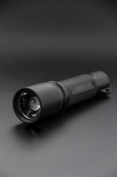 Coast HP7R Flashlight IPX4 Rechargeable Torch, 300 Lumens Red