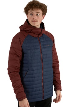 Flylow General's Insulated Down Midlayer Hooded Jacket L Madeira