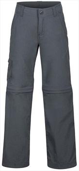 "Marmot Cruz Convertible Pant Boy's Trouser Shorts, 25"" Slate Grey"
