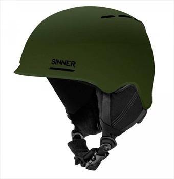 Sinner Fortune Ski/Snowboard Helmet L Matte Moss Green