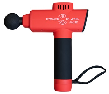 Power Plate Adult Unisex Pulse Handheld Vibration Massager, One Size Red