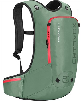 Ortovox Powder Rider All Mountain Backpack, Green Isar 16L