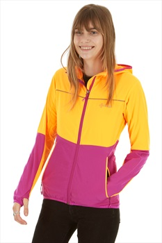 Kilpi Womens Joshua Softshell Jacket, UK 10 Orange/Purple