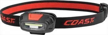 Coast FL13R Headtorch IPX4 Rechargeable Flashlight, 270 Lumens Black