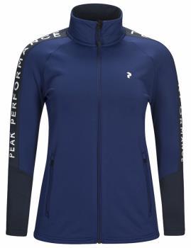 Peak Performance Rider Zip Women's Mid-Layer Jacket, S Blueprint