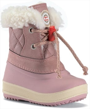 Olang Ape Kids Winter Snow Boots, UK Child 7.5/8.5 Powder Pink