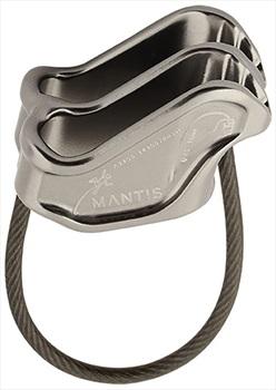 DMM Mantis Rock Climbing Belay Device Titanium