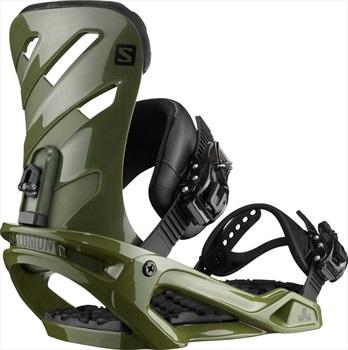 Salomon Adult Unisex Rhythm Snowboard Bindings, S Army Green 2020