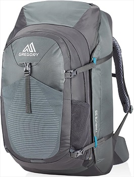 Gregory Womens Tribute 55 Adventure Travel Backpack, 55L Mystic Grey