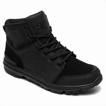 DC Adult Unisex Torstein Men's Winter Boots, UK 8.5 Black/Black