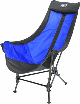 Eno Lounger DL Chair Lightweight Camp Chair, Royal/Charcoal