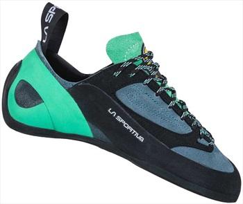La Sportiva Adult Unisex Finale Woman Rock Climbing Shoe, Uk 7 | Eu 40.5 Slate/Jade Green