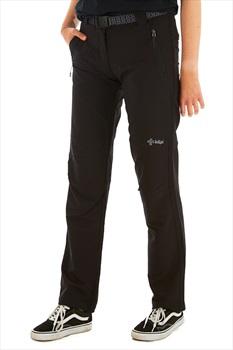 Kilpi Zaria Women's Outdoor Trousers - UK 8S | EU 36S, Black