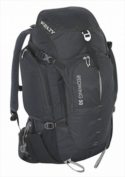 Kelty Redwing 50L 40-51cm Adventure Backpacking Pack, 50L Black