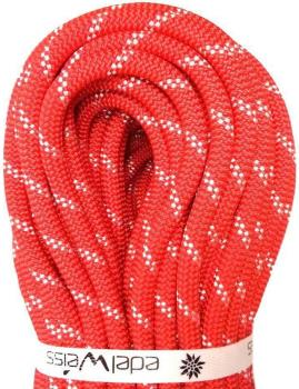 Edelweiss Flashlight II Rock Climbing Safety Rope 10mm x 30m Red