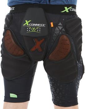 Demon Flex Force XD3O X2 Ski/Snowboard Impact Shorts, XS Black