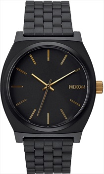 Nixon Time Teller Men's Analog Watch Matte Black/Gold