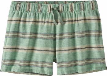 Patagonia Womens Island Hemp Baggies Women's Shorts, Uk 12 Green