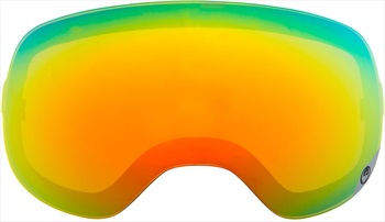 Dragon D3 Snowboard/Ski Goggles Spare Lens, One Size, Red Ionized