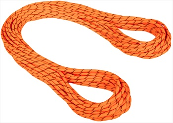 Mammut 8.7mm Alpine Sender Dry Rope Rock Climbing Rope, 70m X 8.7mm Safety Orange-Black