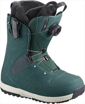 Salomon Ivy BOA SJ Women's Snowboard Boots, UK 7 Deep Teal 2019